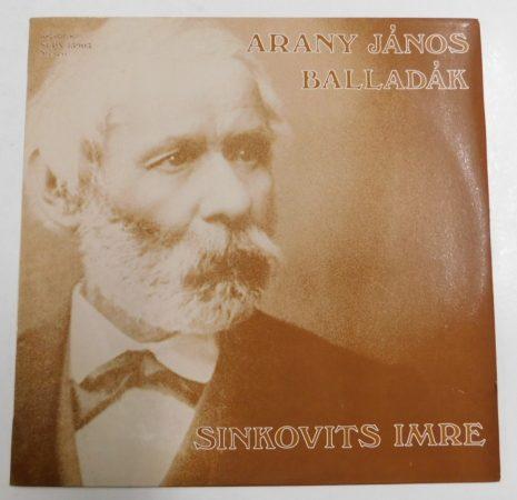 Arany János balladák - Sinkovits Imre LP (EX/EX) HUN