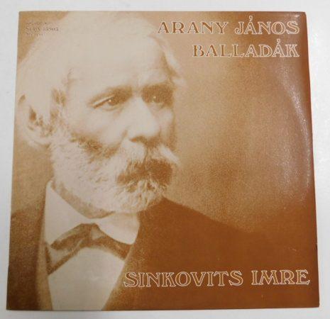 Arany János balladák - Sinkovits Imre LP (NM/EX) HUN