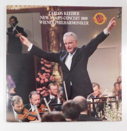 Carlos Kleiber - New Year's Concert 1989 2xLP (EX/EX) görbült!
