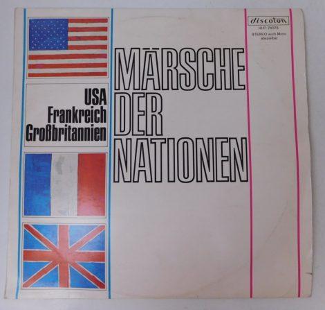 Lehrmusikkorps der Wachbataillons - Marsche der Nationen - USA - Frankreich - Grossbritannien LP (VG+/VG) GER