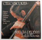 Miklós Perényi, Zoltán Kocsis - Cello Encores LP (VG+/NM)