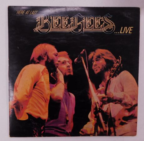 Bee Gees - Here At Last... Bee Gees ...Live 2xLP (VG+/G+) INDIA