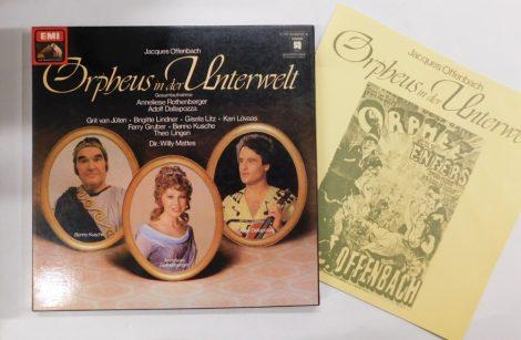 Offenbach - Orpheus In Der Unterwelt 2xLP (EX/EX)