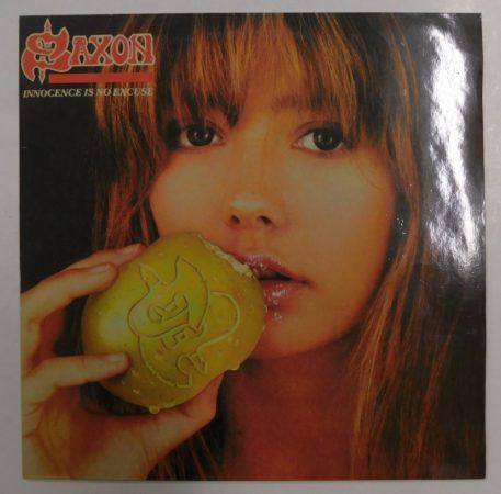 Saxon - Innocence is No Excuse LP (VG/VG+) IND