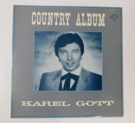 Karel Gott - Country Album LP (VG+/VG+) CZE.