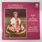 Remport/Risler-Liszt/Bartók/Kodály-Récital De Mélodies Hongroises LP(EX/EX)FRA.