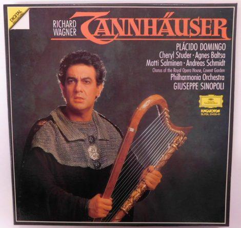 Richard Wagner / Giuseppe Sinopoli - Tannhäuser 3xLP (EX/EX) HUN., +inzert