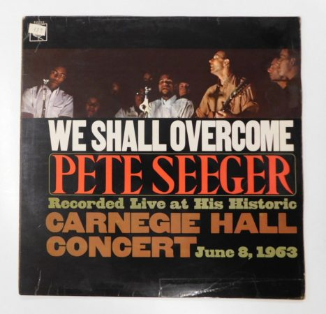 Pete Seeger - We Shall Overcome LP (VG+/G+) UK.