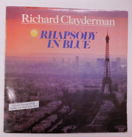 Richard Clayderman - Rhapsody In Blue LP (EX/VG) HUN.