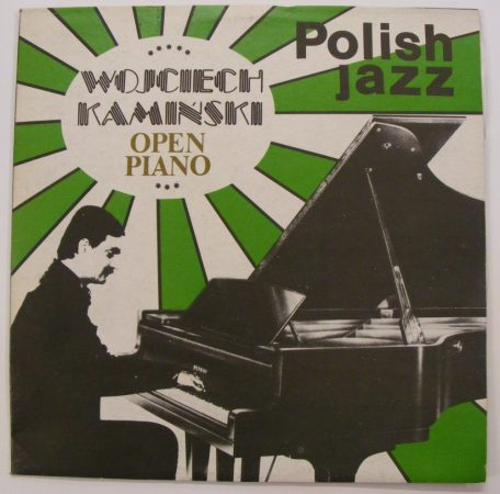 Polish Jazz vol.66 - Wojciech Kaminski - Open Piano LP - VG+/VG