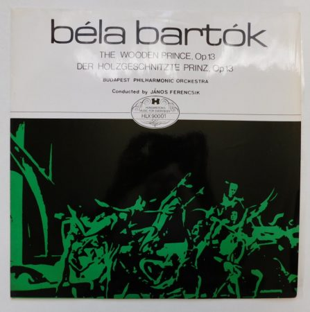 Bartók - The Wooden Prince - Ferencsik LP (NM/NM) HUN