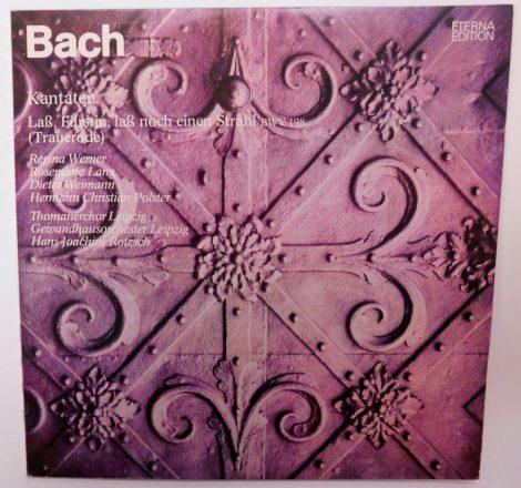 Bach - Laß,Fürstin,Laß Noch Einen Strahl BWV 198 - Trauerode - Kantaten LP(NM/VG+)GER.