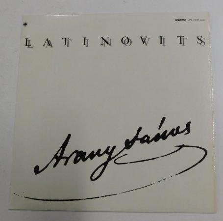 Latinovits Zoltán - Arany János versek LP (NM/EX)