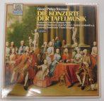 Georg Philipp Telemann - Die Konzerte Der Tafelmusic  LP (NM/VG+) GER.