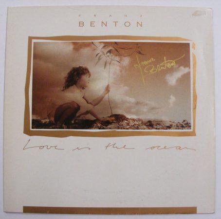 Franz Brenton: Love is the Ocean LP DEDIKÁLT (VG+/VG) GER