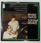 Messiaen/J.Sári/Boulez/Martin/Prokofiev - István Matuz,Zoltán Benkő LP(EX/VG+)
