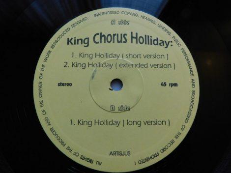 King Chorus Holliday - King Holliday (12inch, 45rpm, VG)