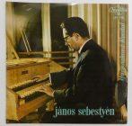 János Sebestyén - Harpsichord Recital LP (NM/VG+) HUN
