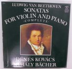Beethoven - Sonatas For Violin And Piano Complete 5xLP Box (NM/VG) +booklet