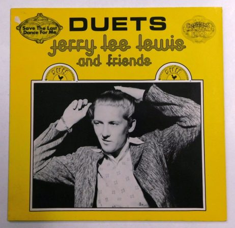 Jerry Lee Lewis and Friends: Duets LP (EX/VG+) GER