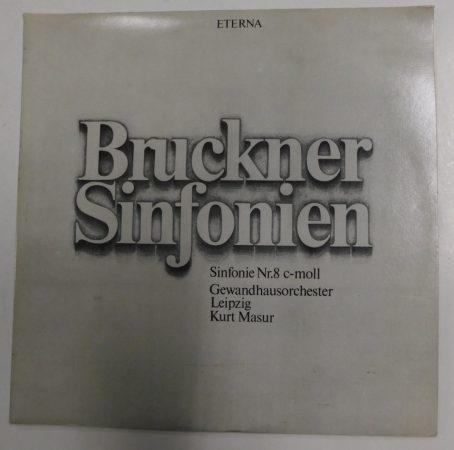 Bruckner - Sinfonie Nr. 8 - Gewandhaus Orchester - Masur 2LP (VG+/VG+) NDK