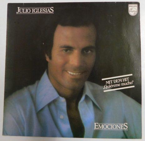 Julio Iglesias - Emociones LP (VG+/VG+) GER