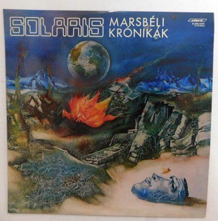 Solaris - Marsbéli Krónikák LP (G+/VG)