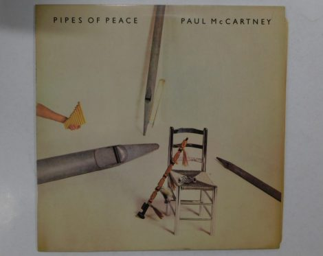 Paul McCartney - Pipes Of Peace LP (VG+/VG+) IND.
