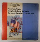 American Youth Symphonic Band - European Concert Tour 1978 2LP (G/VG)
