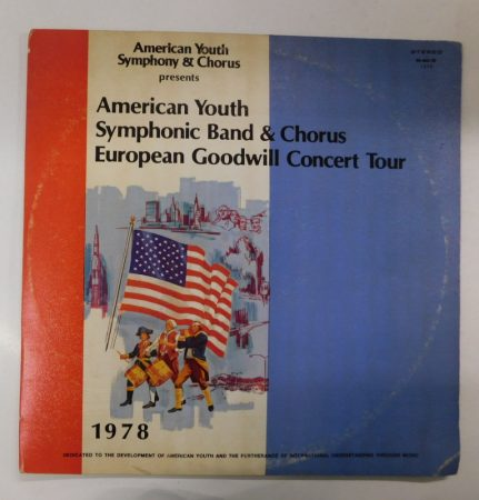 American Youth Symphonic Band - European Concert Tour 1978 2LP (G/VG)