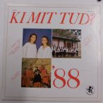 Ki mit tud? 1988 LP Magyar és andoki népzene (VG+/VG+)
