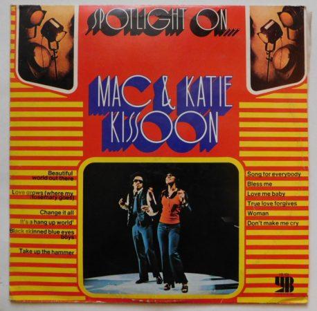 Mac and Katie Kissoon - Spotlight On LP (VG+/VG) YUG.