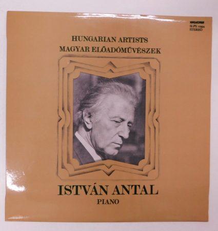 Magyar Előadóművészek - István Antal - Piano LP (EX/EX)