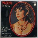 Puccini - Callas, Di Stefano, Gobbi, Victor De Sabata - Tosca 2xLP (EX/EX) HUN
