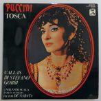 Puccini - Tosca 2xLP + inzert (NM/EX) HUN Callas