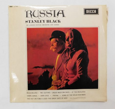 Stanley Black - Russia LP (EX/VG) UK.