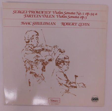 Sergei Prokofiev, Fartein Valen - Violin Sonatas LP (NM/EX) GER