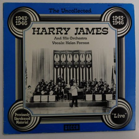 Harry James And His Orchestra - The Uncollected 1943-1946 LP (NM/VG+) GER