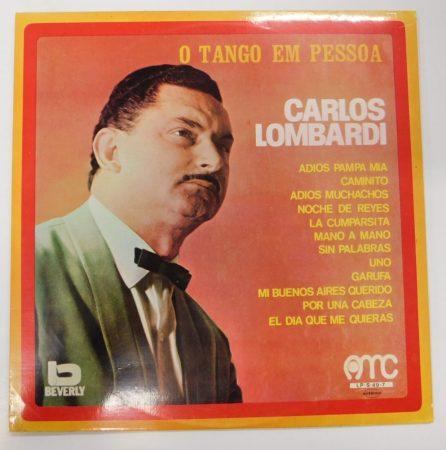 Carlos Lombardi - O Tango Em Pessoa LP (VG+/VG+) Portugal