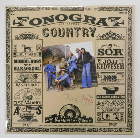Fonográf - Country Album LP (VG/VG)