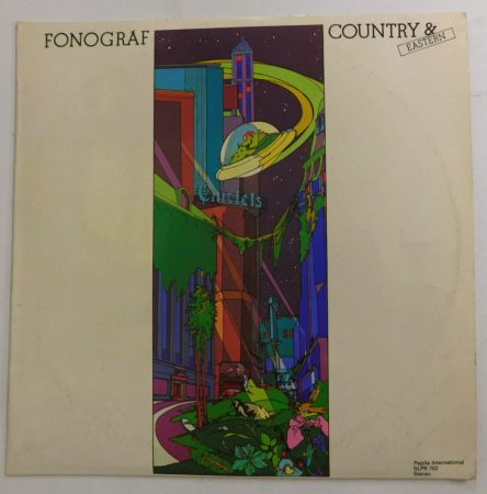 Fonográf - Country and Eastern LP (VG/VG)