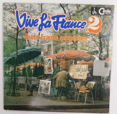 V/A - Vive La France 2 - Grote Franse Successen 2xLP (VG+/VG) NL