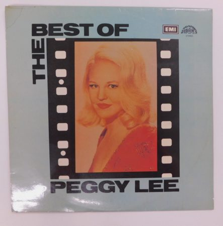 Peggy Lee - The Best Of Peggy Lee LP (VG+/VG) CZE