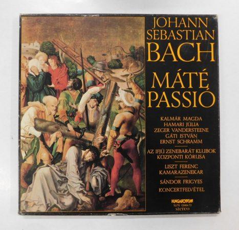 Johann Sebastian Bach - Máté Passió 4xLP (VG+/EX)