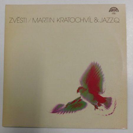Zvesti - Martin Kratochvil and JazzQ LP (NM/NM) CZE
