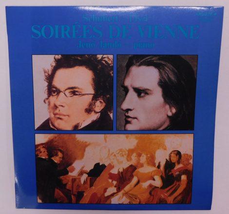Schubert - Liszt, Jenő Jandó - Soirées de Vienne LP (NM/NM)