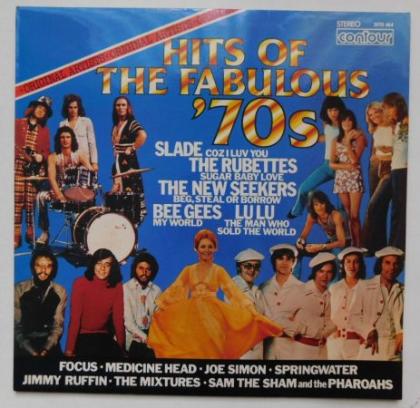 V/A- Hits of the Fabulous 70s (VG+/EX) UK
