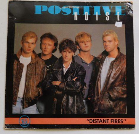 Positive Noise - Distant Fires / Swamp 45rpm LP (VG+/G+) UK