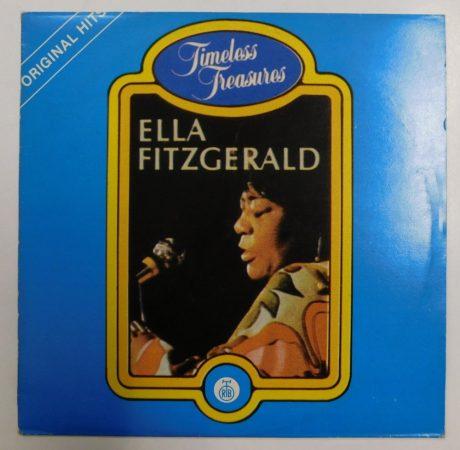 Ella Fitzgerald - 16 original hits LP (EX/VG) YUG.