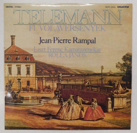 Telemann - Fuvolaversenyek LP (EX/EX)